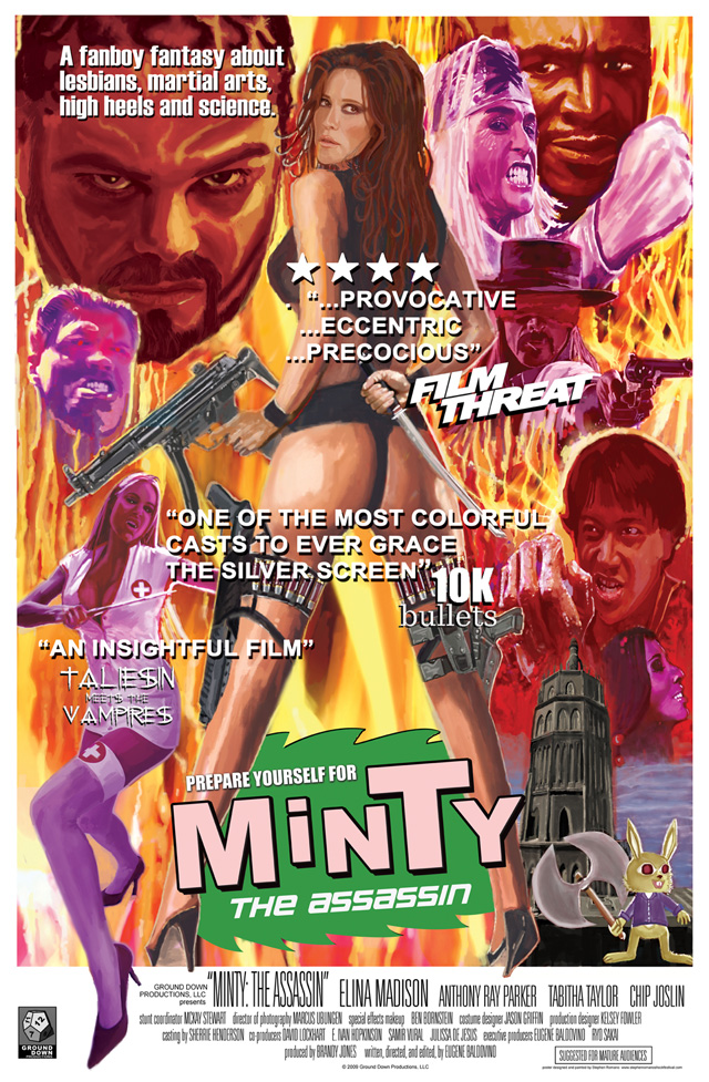 Minty The Assassin - Poster